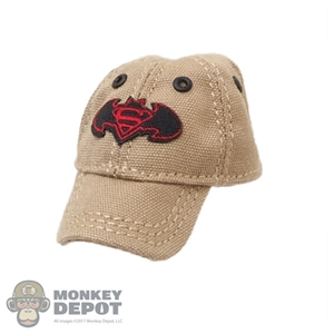 Hat: Flagset Wild Mens Tan Cap w/SuperBat Logo