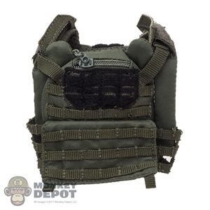 Vest: Flagset Mens Green Tactical Vest
