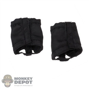 Gaiters: Flagset Mens Black Leg Gaiters
