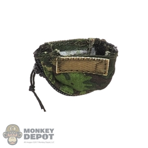 Pouch: Flagset Machine Gun Drum Pouch w/ Zipper (Reversed)