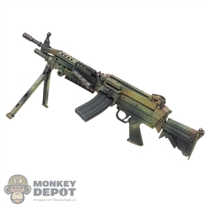 Rifle: Flagset M249 Machine Gun (Camo)
