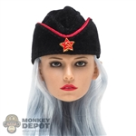 Hat: Flagset Female Soviet Sidecap
