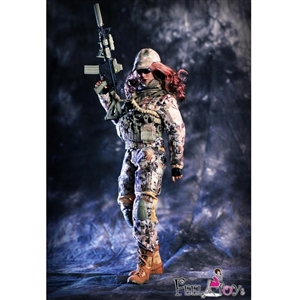 Boxed Figure: Feel Toys Female Commando Viper Camo Set (FT-003)