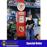 Display: Feel Wo Toys 1/6th Vintage Gas Pump (FW-009-6)