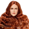 Head: GAC Toys Amanda Long Red Hair (GAC-009A)