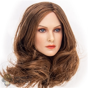 Head: GAC Toys Lizzy w/Brown Hair (GAC-005B)