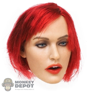 Head: GAC Toys Bright Red Haired Peggy (GAC-0017A)