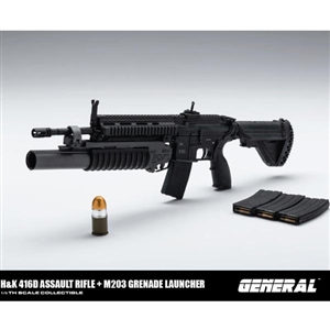 Rifle Set: General 416D Assault Rifle (GA-001)