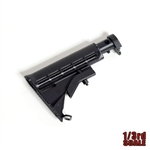 Stock: Goat Guns 1/3rd Black Adjustable AR Stock