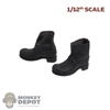 Boots: Great Twins 1/12 Mens Black Boots
