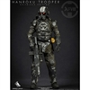 Boxed Figure: Green Wolf Gear The Hanroku Trooper Salt Black Reg. Edition (GWG-SBRE)
