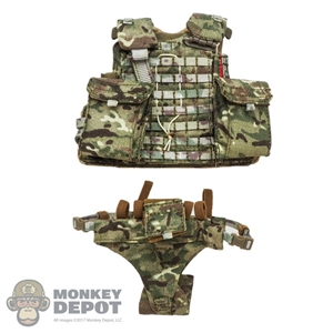 Vest: GWG Mens VIRTUS MTP Body Armour + Groin Protector