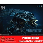 "Collectible Figure: Herocross 7"" Tall Hybrid Metal Figuration Alien Queen (HMF-047)"