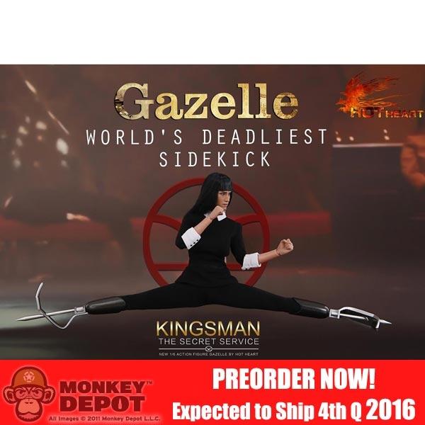 Monkey Depot - Boxed Figure: Hot Heart Gazella Worlds