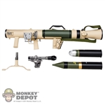 Weapon Set: Hobby Nut M3 Carl G Recoilless Rifle - Tan (HN-M3-4)