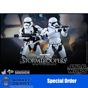 Boxed Figure: Hot Toys Star Wars - First Order Stormtroopers (902537)