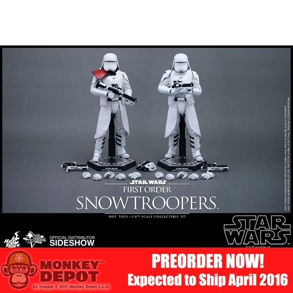 Hot Toys 1//6 scale Star Wars Snowtrooper Deluxe Backpack