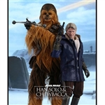 Boxed Figure: Hot Toys Star Wars Han Solo and Chewbacca (902761)