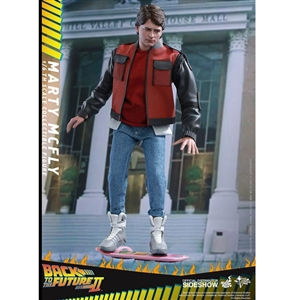 Boxed Figure: Hot Toys Back To The Future II - Marty McFly (902499)