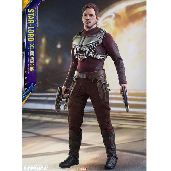 Hot Toys Guardians of the Galaxy 2 Star Lord DX Gloved Hands loose 1//6th scale