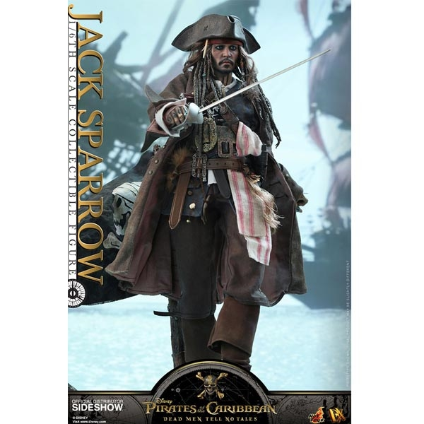 1//6 Scale Third Party Action Figures Short Pants Captain Jack Sparrow