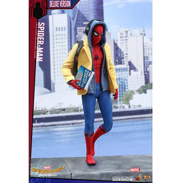 Monkey Depot Boxed Figure Hot Toys Spider Man Deluxe Version 903064