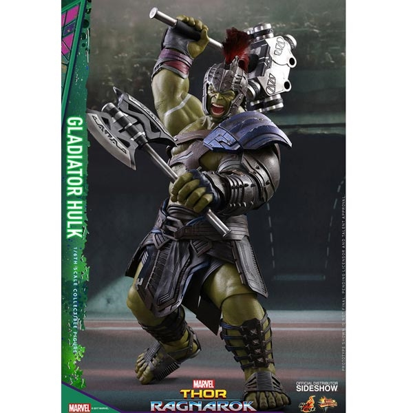 Monkey Depot Boxed Figure Hot Toys Thor Ragnarok Gladiator Hulk 903105