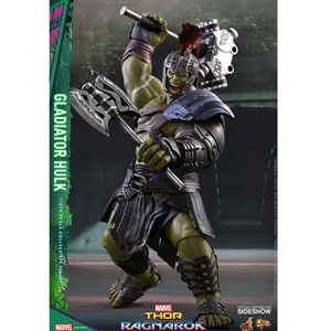 Boxed Figure: Hot Toys Thor: Ragnarok - Gladiator Hulk (903105)
