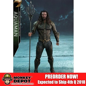 Boxed Figure: Hot Toys Justice League Aquaman (903123)