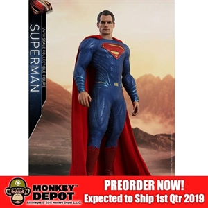 Boxed Figure: Hot Toys Justice League Superman (903116)