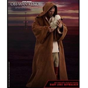 Boxed Figure: Hot Toys Episode III: Revenge of the Sith - Obi-Wan Kenobi Deluxe Edition (903477)