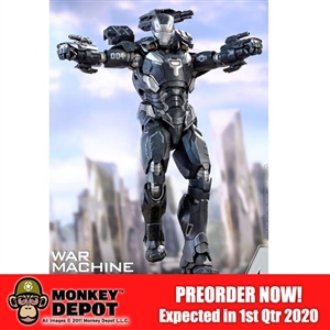 Boxed Figure: Hot Toys DIECAST - Avengers: Infinity War - War Machine Mark IV (903796)