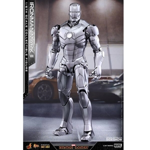 Boxed Figure: Hot Toys DIECAST Iron Man Mark II (903098)