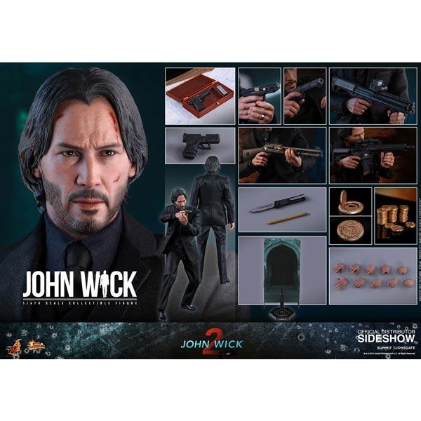 Monkey Depot Boxed Figure Hot Toys John Wick Chapter 2 John Wick 903754