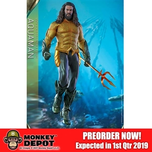 Boxed Figure: Hot Toys Aquaman (903722)