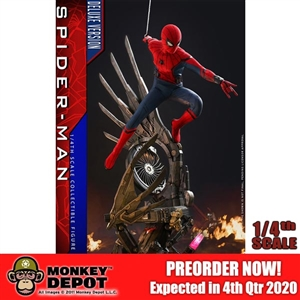 Hot Toys 1/4th Scale Spider-Man (Deluxe Version) (904920)