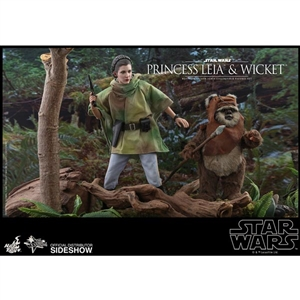 Hot Toys Star Wars Princess Leia + Wicket (905143)