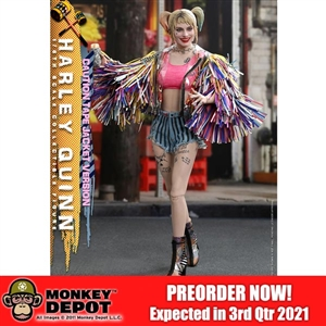 Hot Toys Birds of Prey Harley Quinn (Caution Tape Jacket Version) (906087)