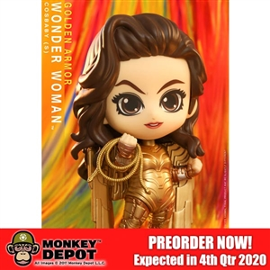 Collectible Figure: Hot Toys DC Golden Armor Wonder Woman (906330)