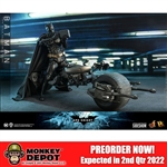 Boxed Figure or Vehicle: Hot Toys Batman or Bat-Pod