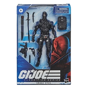 Action Figure: Hasbro 6 inch G.I. Joe Classified Series Snake Eyes