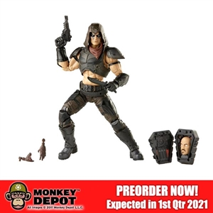 Action Figure: Hasbro 6 inch G.I. Joe Classified Series Zartan