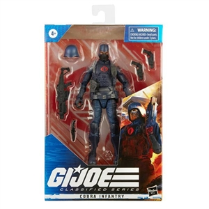 Action Figure: Hasbro 6 inch G.I. Joe Classified Series Cobra Infantry