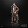 Action Figure: Hasbro 6 inch Star Wars Black Series Han Solo (Endor Trenchcoat)