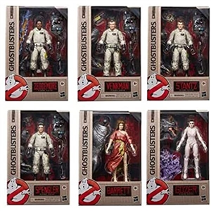 Action Figure: Hasbro 6 inch Ghostbusters Plasma Series (Not Full Set)