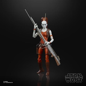 Hasbro 6 inch Star Wars Black Series Aurra Sing