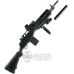 Monkey Depot - Rifle: Hot Toys M4 Carbine w/Silencer, ACOG