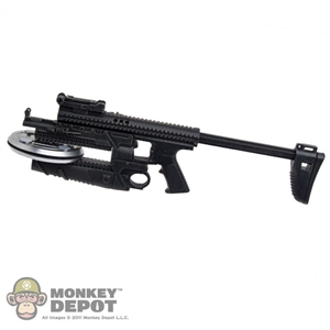 Rifle: Hot Toys Modified FN Mk 13
