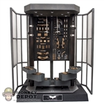 Display: Hot Toys Fully Stocked Armory w/Lights & Display Stand