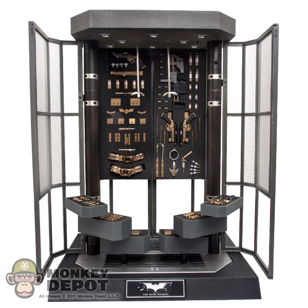 Monkey Depot Display Hot Toys Fully Stocked Armory W Lights